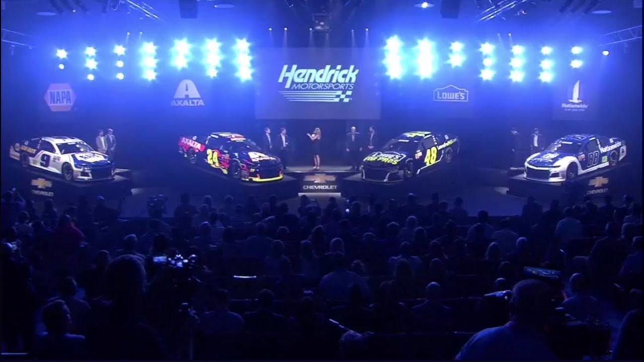 2018 chevrolet nascar camaro. plain camaro nascar hendrick reveal their 2018 chevy camaro paint schemes and chevrolet nascar camaro e