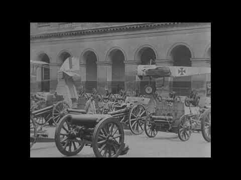 Scenes in Paris, War Trophies [1918-1919]