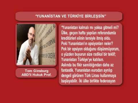 """""""YUNANİSTAN TÜRKİYE'YE KATILSIN"""""""