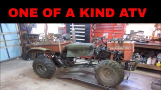 Will It Run? Home Made Rat Rod Atv. . Edited Version For Tv Show That Did Not Air.
