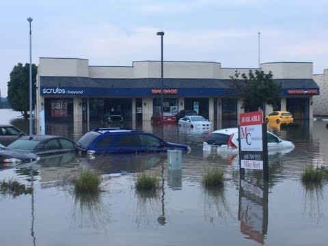 Madison floods, heavy rainfall Dane County, Wisconsin  floods