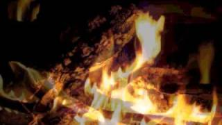 Slow Romantic Music with a fire