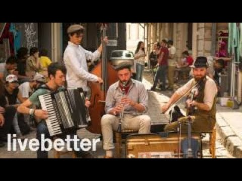 Modern jazz gypsy music to listen and dance instrumental mix romanian hungarian happy musi