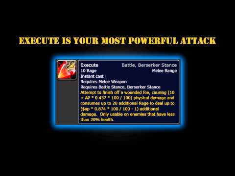 Arms Warrior PvP Guide, The Basics To Deal Damage   Cataclysm Patch 4.3.4