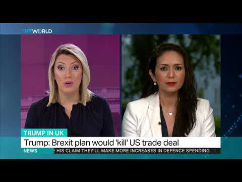 Trump's criticism of Theresa May