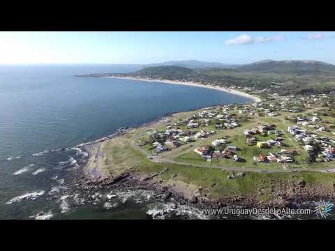 Video aéreo de Punta Colorada, Maldonado, Uruguay Desde Lo Alto