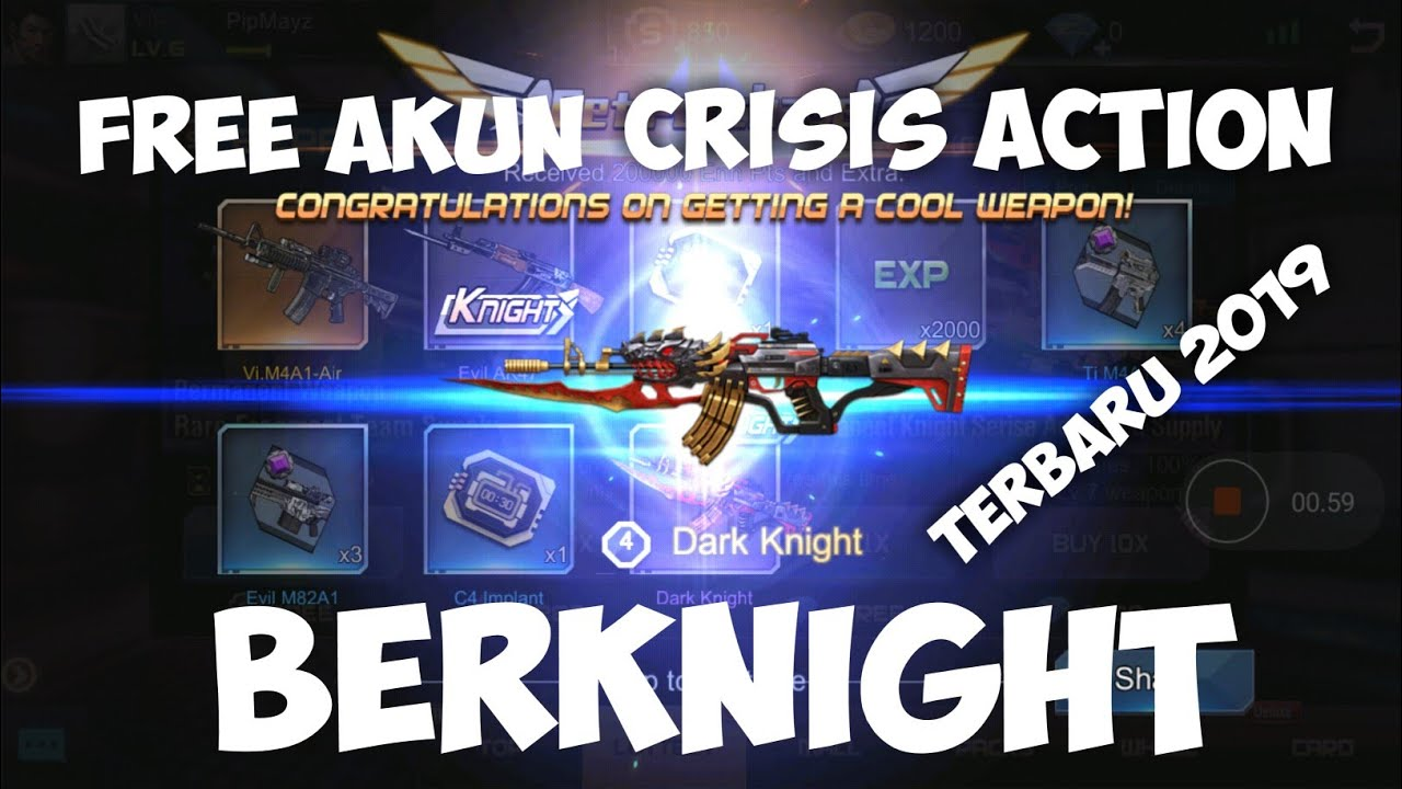 Selusin Akun 12 Crisis Action By Irfan Alvin