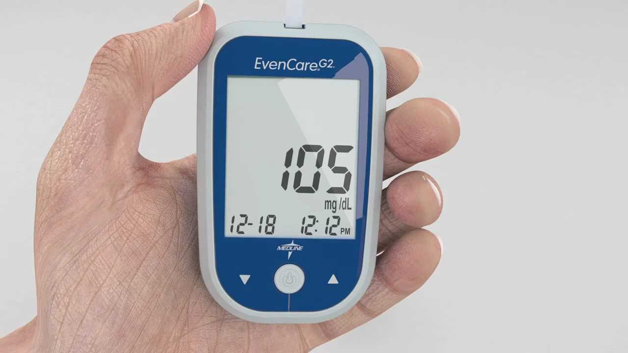 Evencare G2 Blood Glucose Monitoring System Youtube
