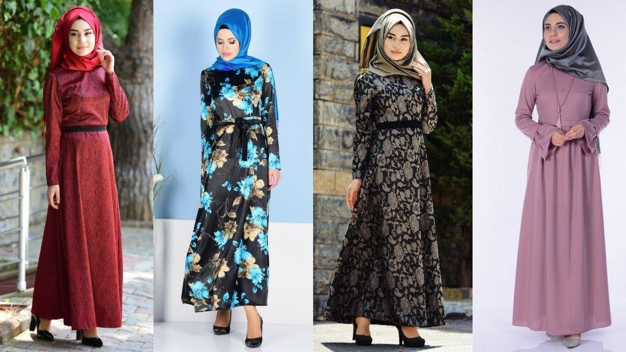 1c1c259f94a5c Sefamerve Bayrama Özel - İndirimli Tesettür Elbise Modelleri 2/2. Yeni  Sezon Tesettür