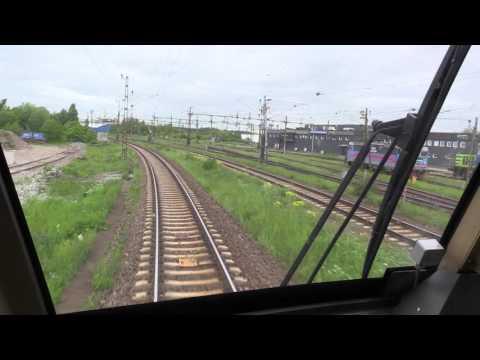 TTR214 Snälltåget Cab Ride Führerstandsmitfahrt Linköping to Stockholm
