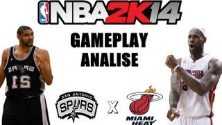 NBA 2K14 : Gameplay Comentado ( PT -BR )