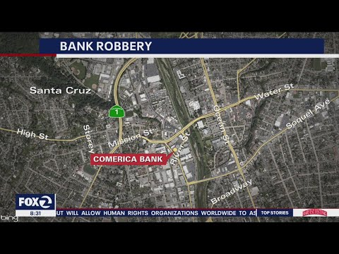 Santa Cruz bank robber gets away on bicycle, changes clothes to evade police thumbnail