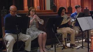 Can't Help Falling In Love | Shadyside Brass and Plum Brass Quintet