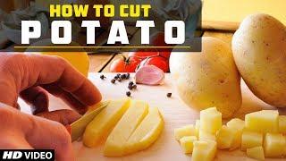 How To Cut Potato Into Shreds | Cooking Hacks | Chef Girish | Potato Salli