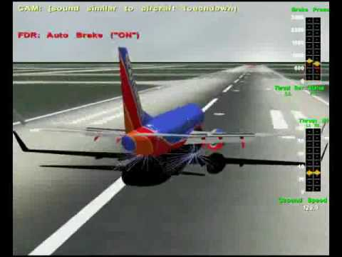 NTSB Animations: Southwest Airlines Flight 1248
