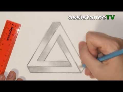 Как нарисовать треугольник