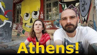 Eating Tons of Greek Food in Athens, Greece