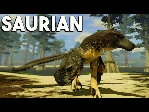 Saurian - GIVEAWAY! DAKOTARAPTOR BATTLES REX FOR FOOD, BABY GROWING MORE & CLIMBING TREES - STREAM