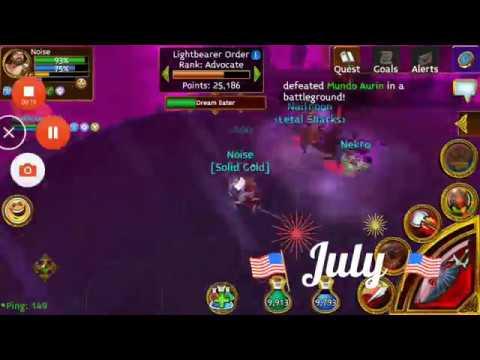 Arcane Legends :2 Tanks Killing The Dream Boss!
