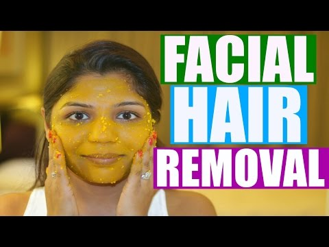 Quick Facial Hair Removal At Home | SuperPrincessjo