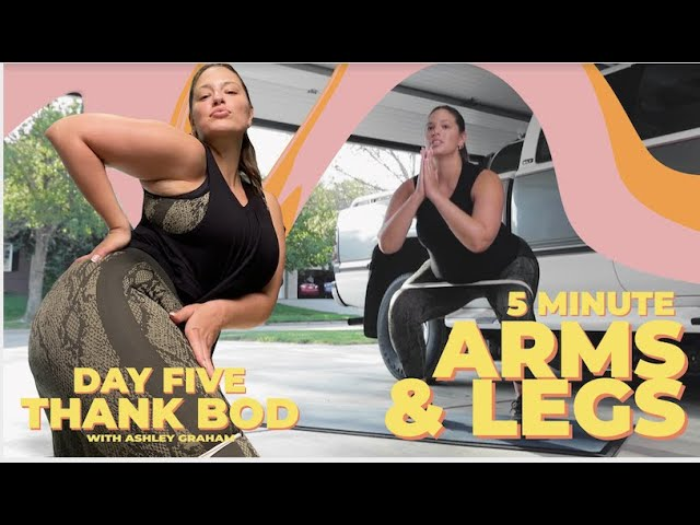 Thank Bod Challenge With Ashley Graham | Day 5 Band Workout Finale!
