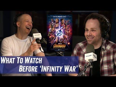 What To Watch Before 'Infinity War' - Jim Norton & Sam Roberts
