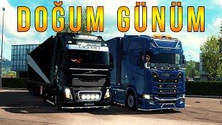 Bugün Benim Doğum Günüm - Euro Truck Simulator 2 Multiplayer