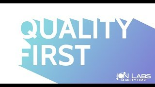 "Ion Labs ""Quality First""  