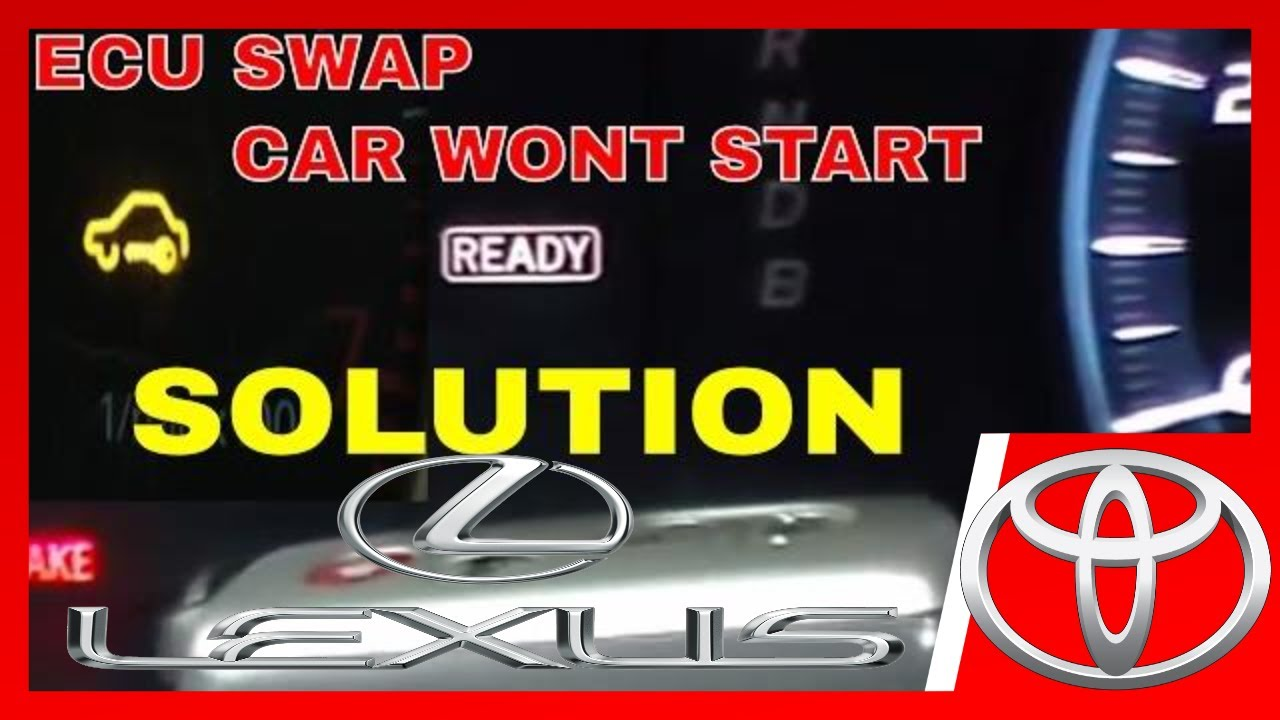 How to program immobilizer ECU KEYS after ECU swap Toyota LEXUS SCION no  tools needed