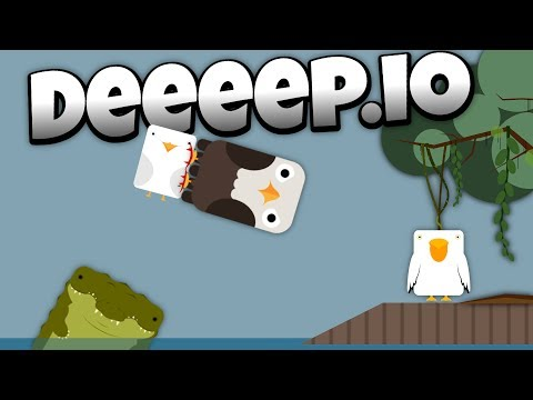 Deeeep.io - The Vicious Bald Eagle Destroys Seagulls! -  - Lets Play Deeeep.io Gameplay - Beta