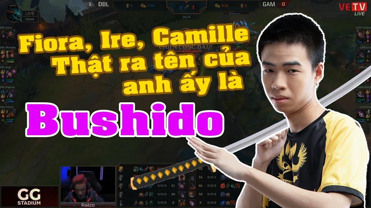 DBL vs GAM: Thật ra tên của anh ấy là Bushido [GAM Esports Highlight]