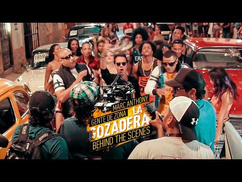 Gente de Zona + Marc Anthony - La Gozadera (Behind The Scenes)