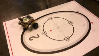 Lego EV3 PID line robot