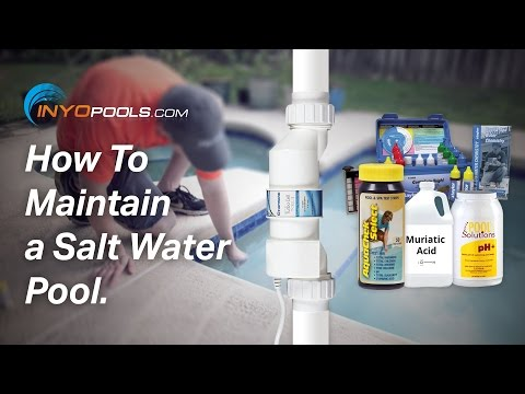 How To: Maintain a Salt Water Pool