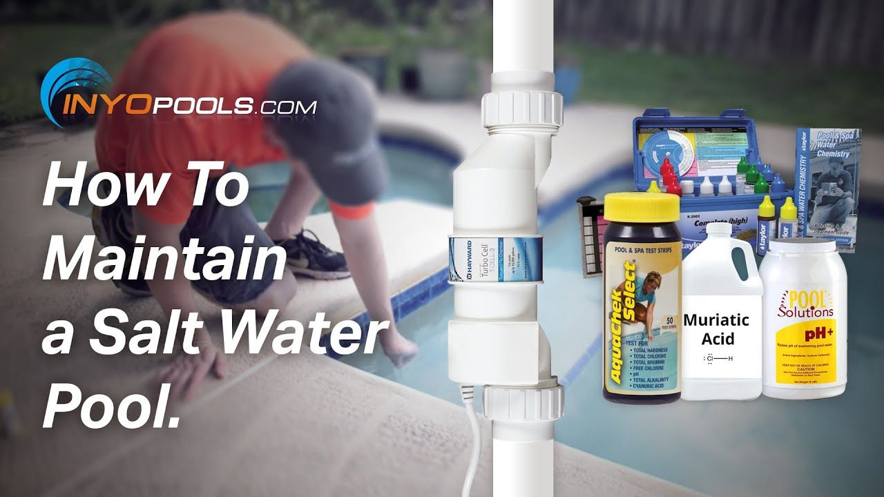How To Maintain A Salt Water Pool