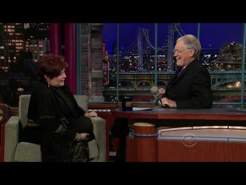 Carrie Fisher on David Letterman - 24/11/2009 HD