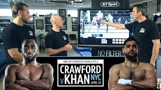 Crawford v Khan: Who will win and how will they win? Full Fight Breakdown analysis