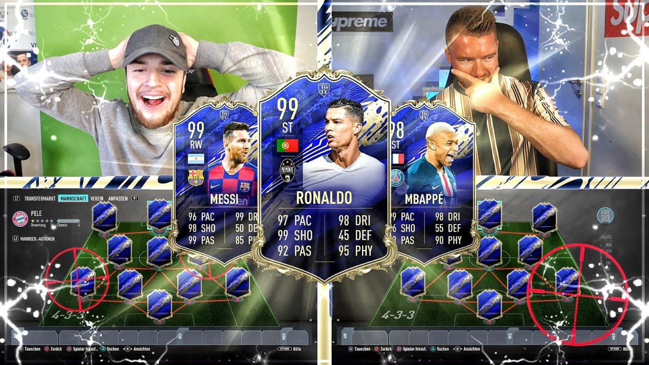 FIFA 20: KRANKER FULL TEAM OF THE YEAR SBB vs proownez 😱🔥