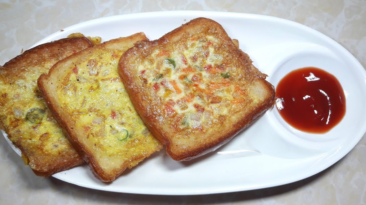 Morning Breakfast Prepare within 3 minutes | Egg Toast Recipe| Bengali Dim  Toast Recipe| Easy Recipe - YouTube