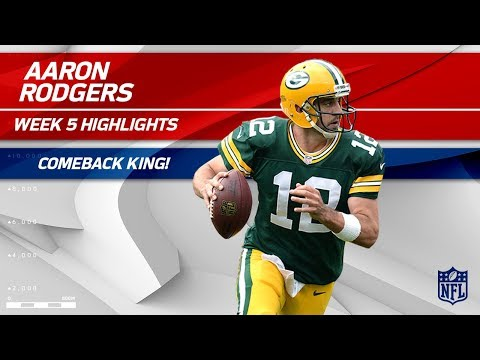 Aaron Rodgers: The King of Comebacks 👑 (Highlights) | Packers vs. Cowboys | Wk 5 Player Highlights