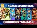 Kuasa Elemental Tahap 4 Boboiboy (fanart)