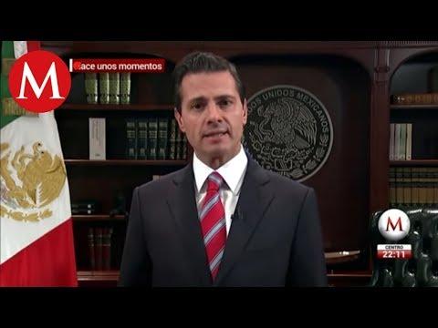 México no permitirá ingreso violento de migrantes: Peña Nieto