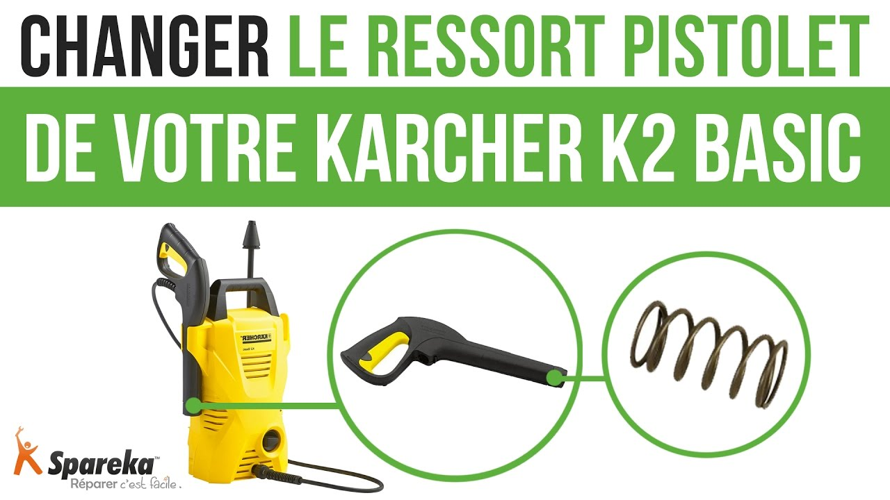 cheap comment changer le ressort pistolet de votre karcher k basic with lance karcher leroy merlin. Black Bedroom Furniture Sets. Home Design Ideas