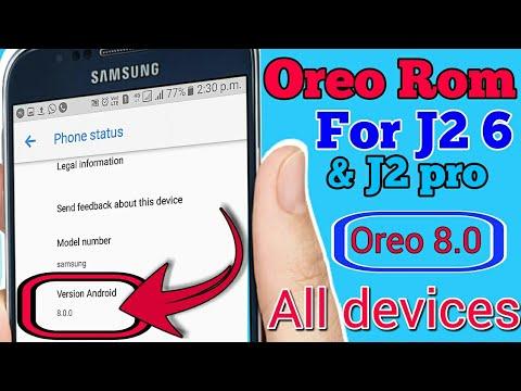 [Oreo Rom] Oreo 8 0 for J2-6 & J2 pro (J210F) Oreo For All Devices