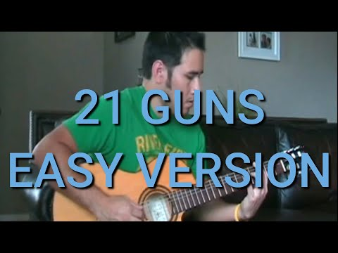 Green Day - 21 Guns (Acoustic) with TAB