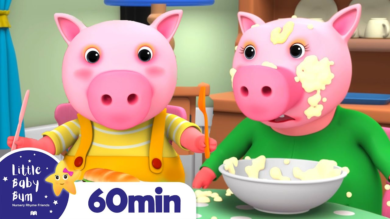 This Little Piggy +More Nursery Rhymes and Kids Songs   Little Baby Bum