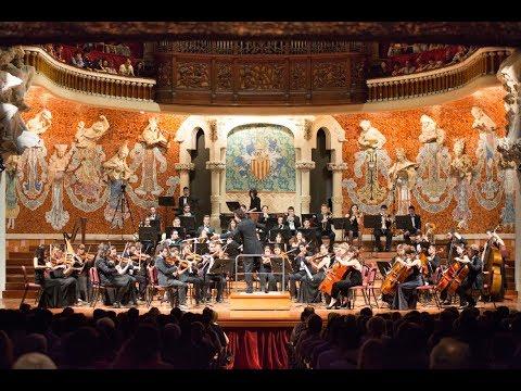 Debut de la JOSB al Palau de la Música Catalana.