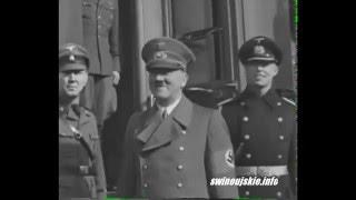 Adolf Hitler w 1939 roku w Świnoujściu