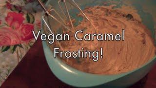 Vegan, Cane Sugar-free Caramel Icing