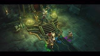 Diablo III PlayStation 3 Multiplayer Trailer